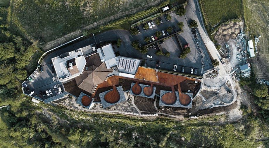 luksushotel spanien oppefra hotel
