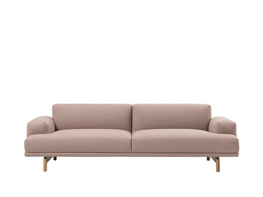 Rummelig og sofistikeret sofa