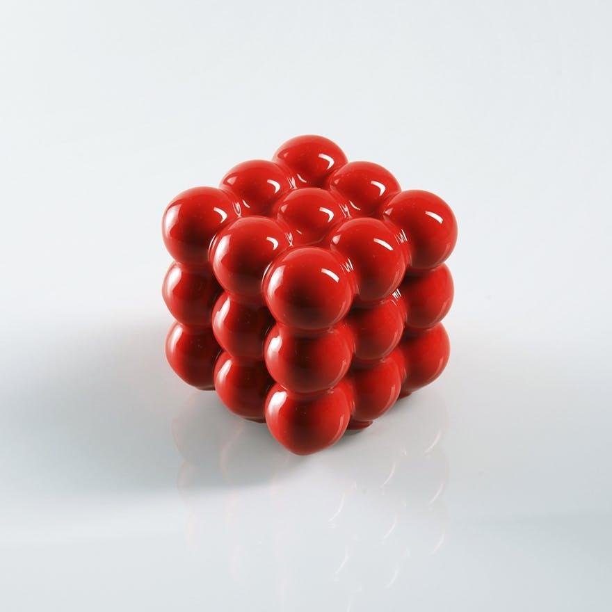 flotte kager glaze rød