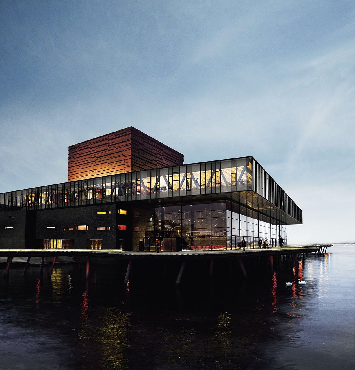arkitektur guide københavn skuespilhuset