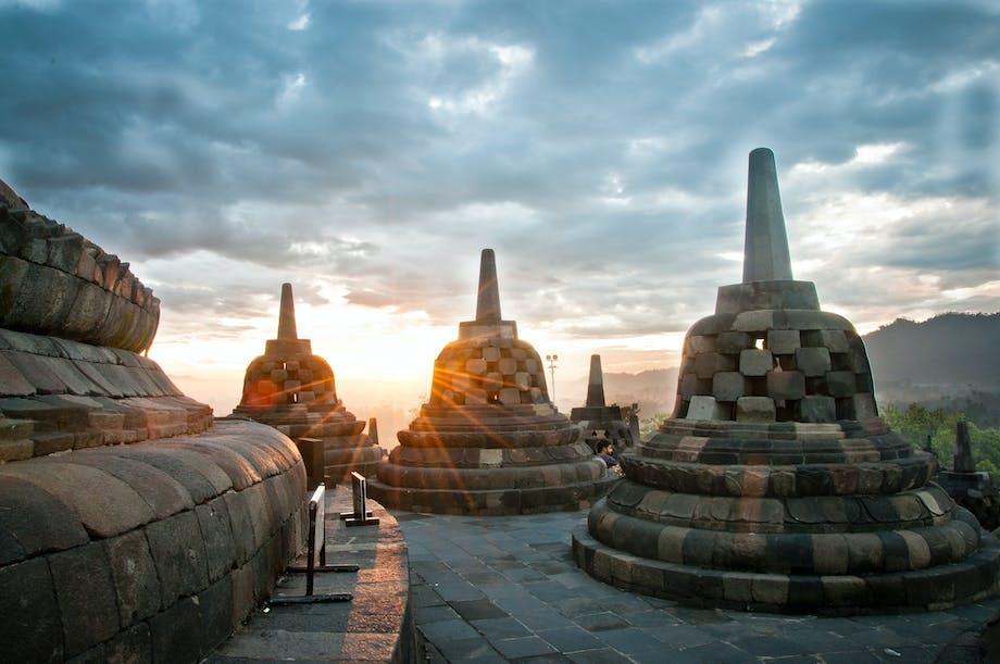 Borobudur – Indonesien