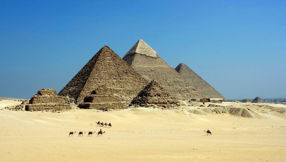 Pyramiderne – Egypten