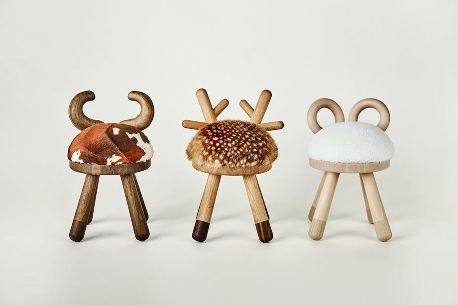 inspiration til børneværelset eo dyrestole