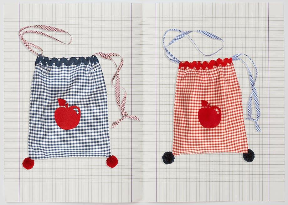 inspiration til børneværelset Milou Milano tasker