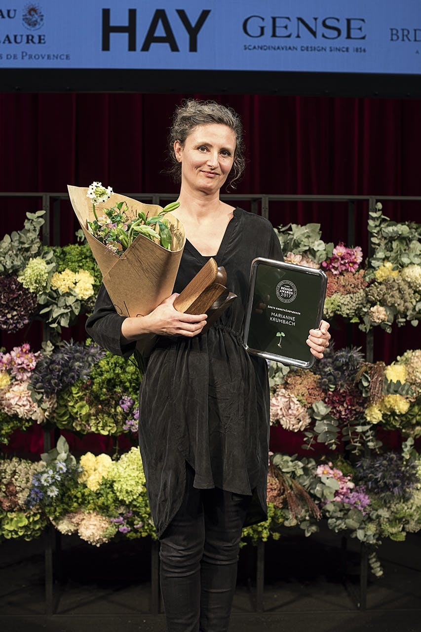 design awards 2017 folketeatret kunsthåndværker Marianne Krumbach