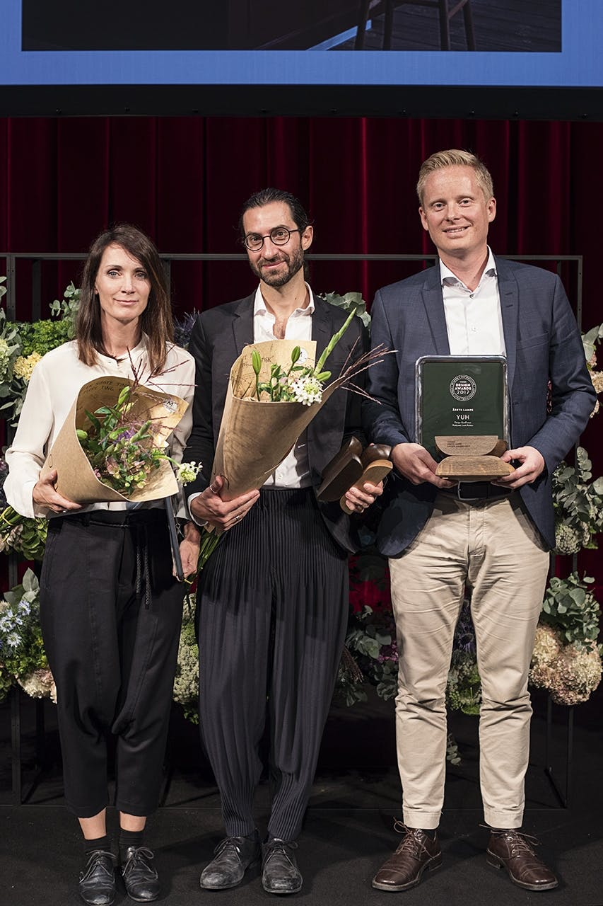 design awards 2017 folketeatret Årets lampe Louis Poulsen GamFratesi