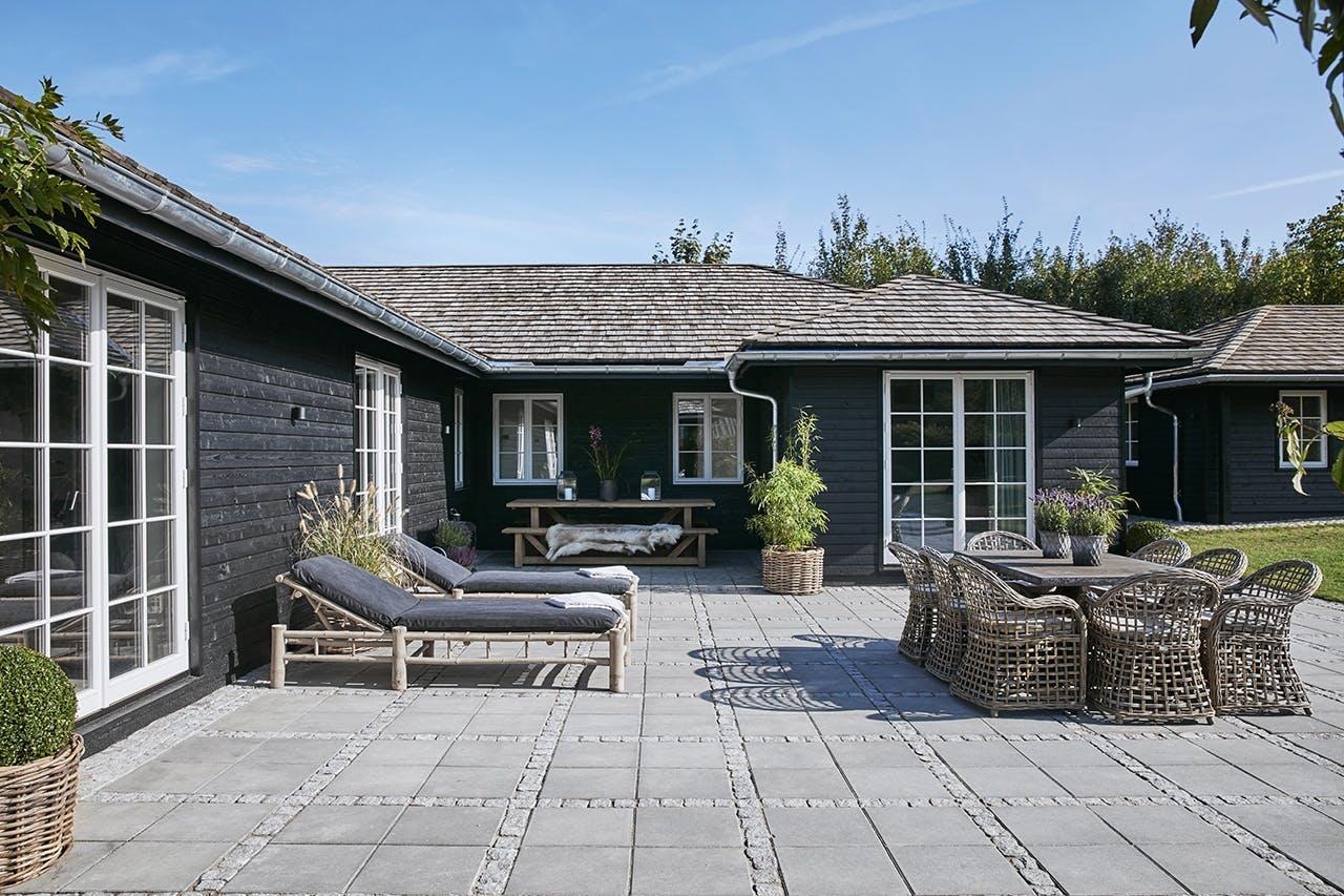 sommerhus privat terrasse