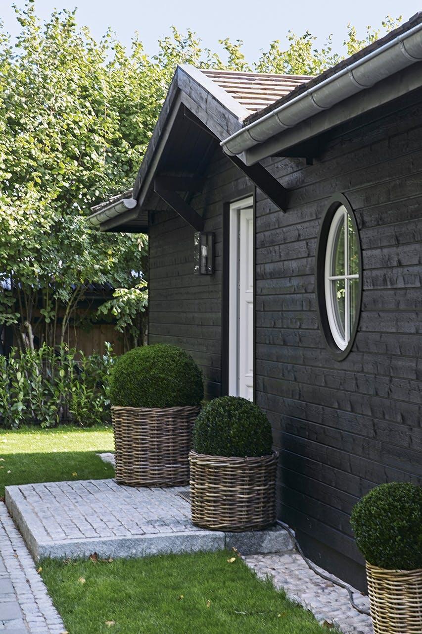 sommerhus privat udendørs indgang
