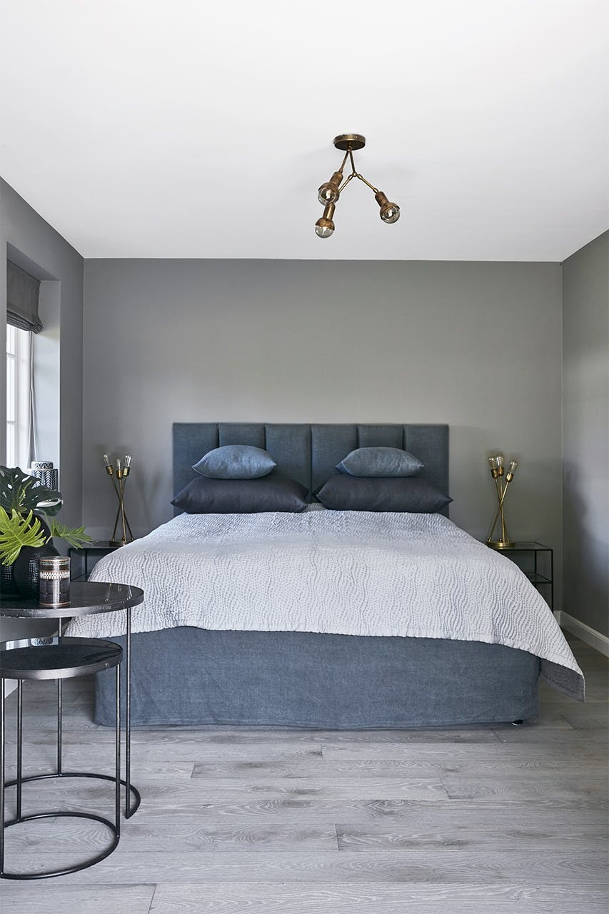 sommerhus privat soveværelse seng
