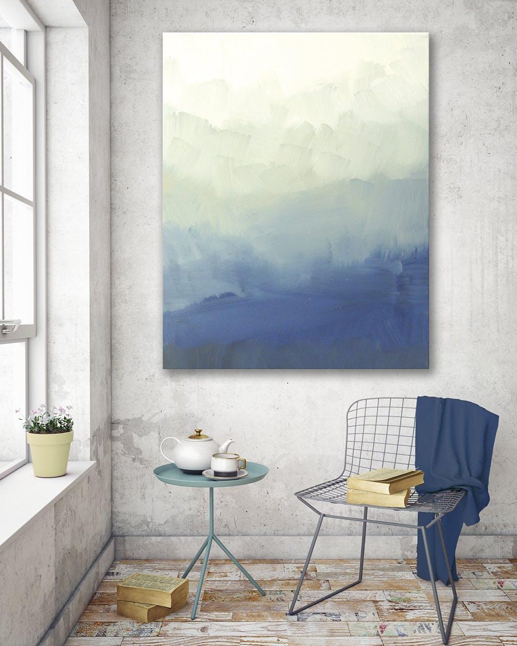 billede kunst stol