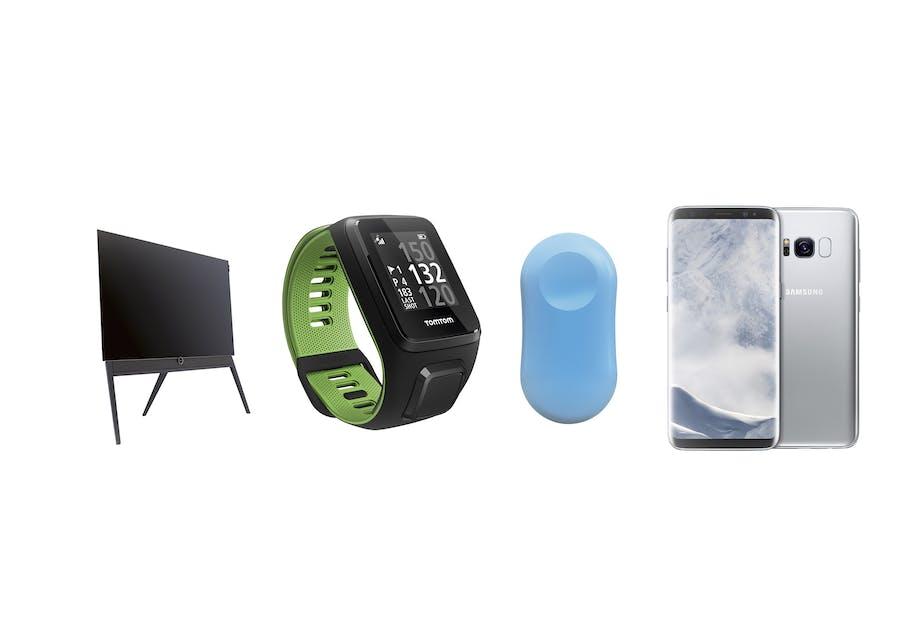 samsung mobil tv løbeur trådløs