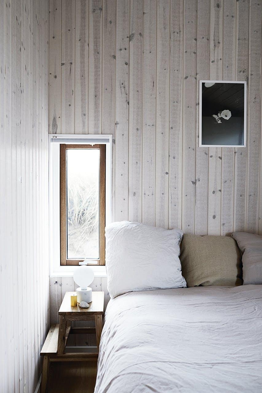 sommerhus seng soveværelse