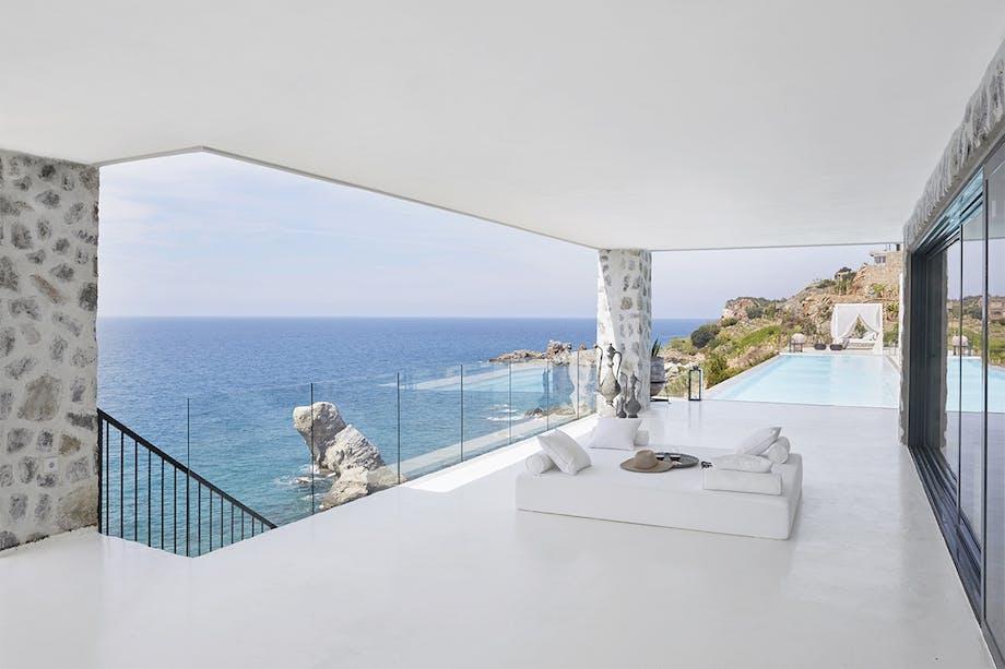 Terrasse i feriehus i Tyrkiet