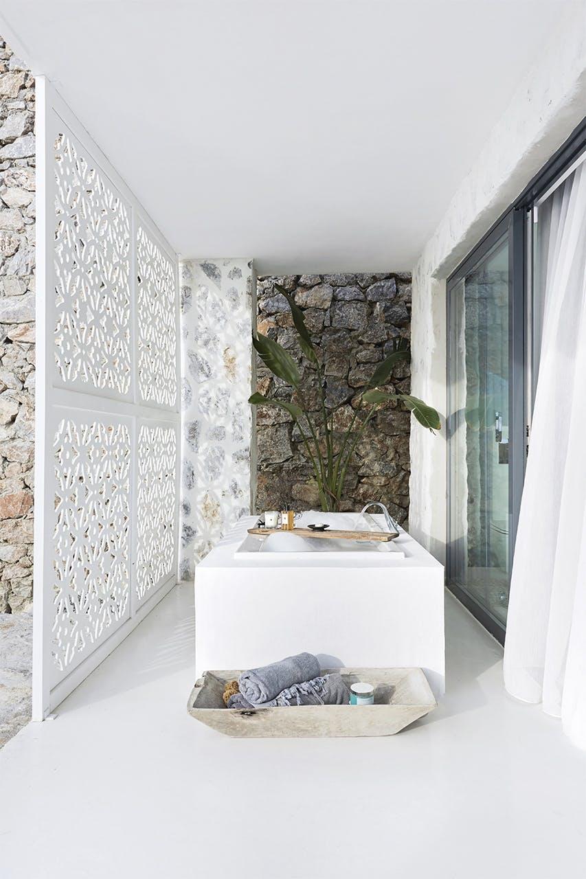 Badeværelse i Feriehus i Tyrkiet
