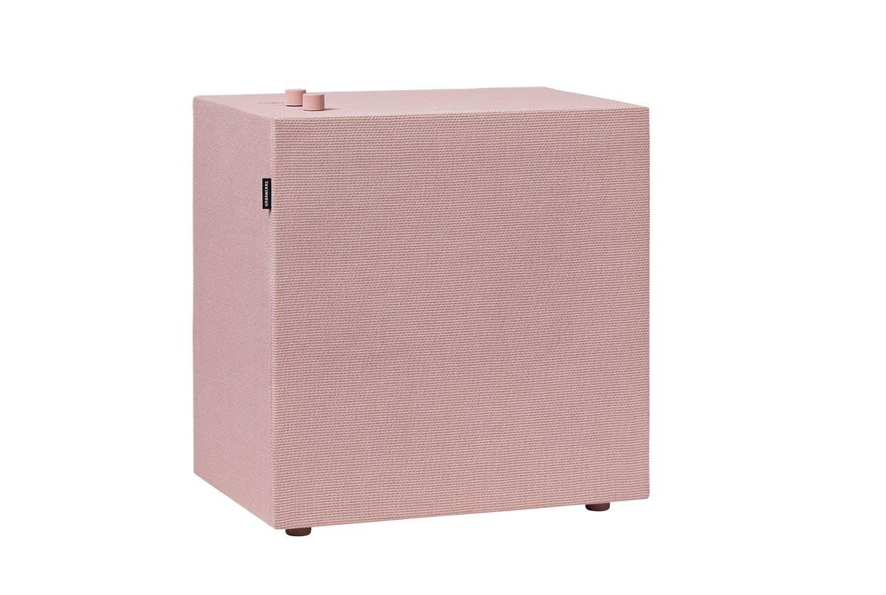 lys trådløs højtalere pink