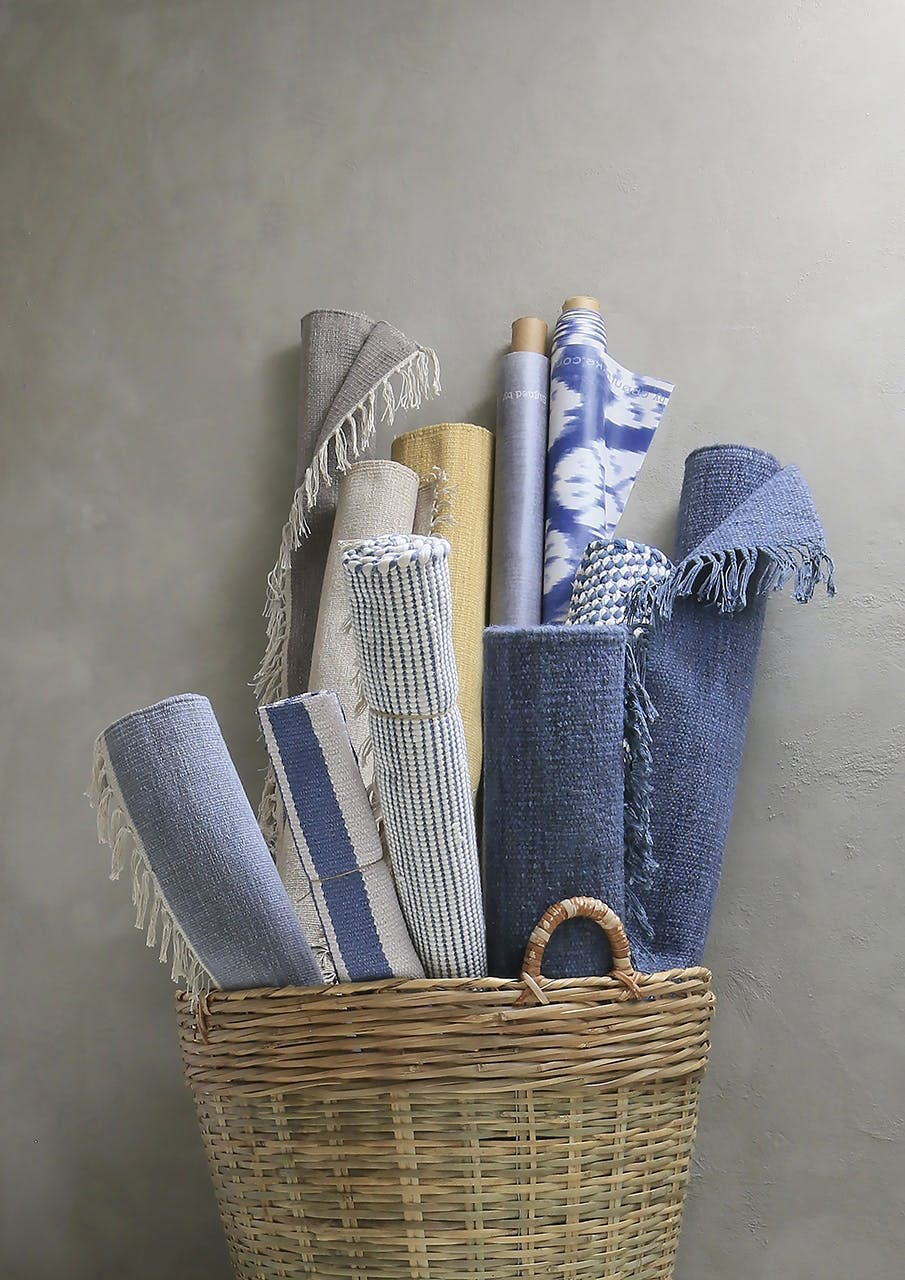 Fine tæpper i flotte farver