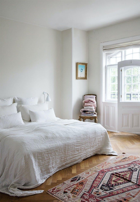 Lyst og lækkert soveværelse