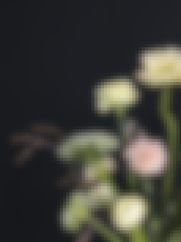 Detaljebillede af buket 4