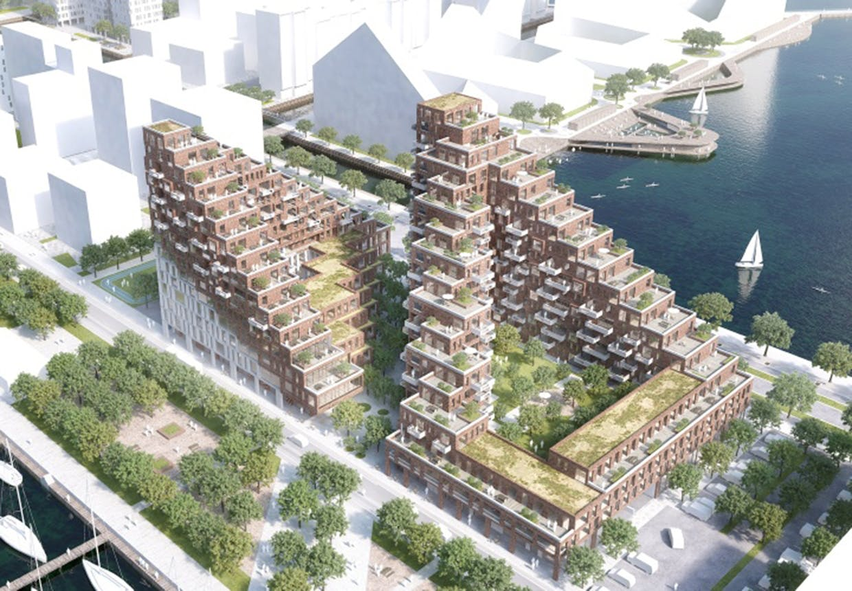 Nyt byggeri ved Aarhus havn