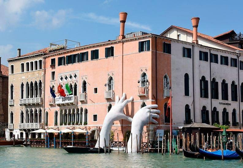 Venedig synker