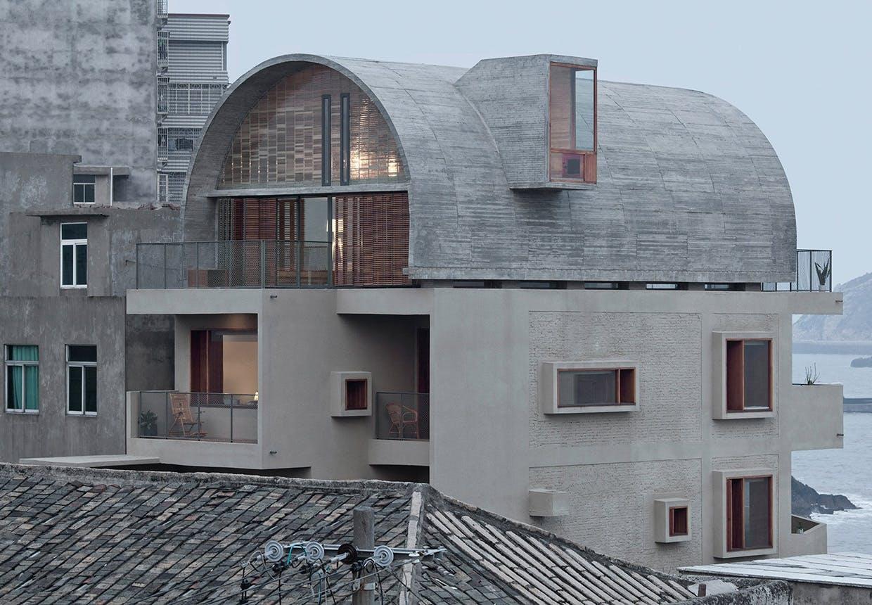 Forstærket med beton
