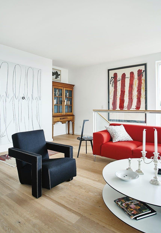 Den røde sofa