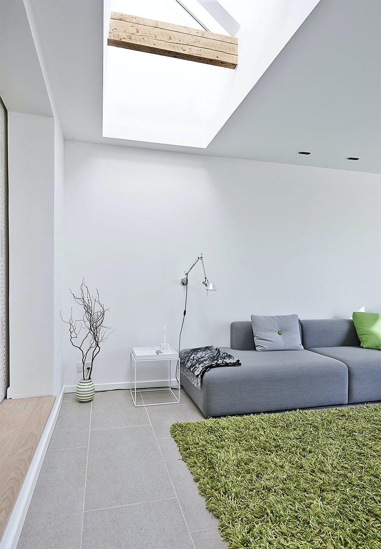 Højt til loftet giver stor rumfornemmelse