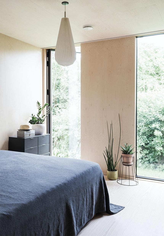 Udgang til haven fra soveværelset