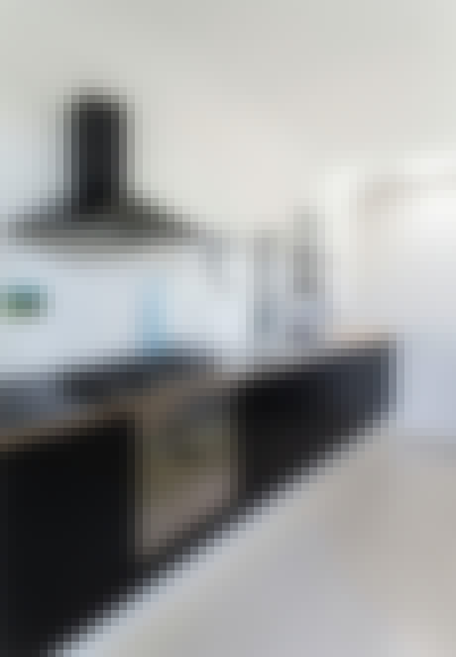 Køkken af Ikea og eget design