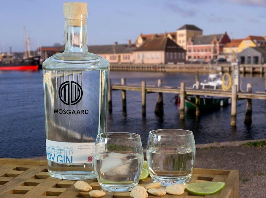 Dansk gin på mandariner og mandler
