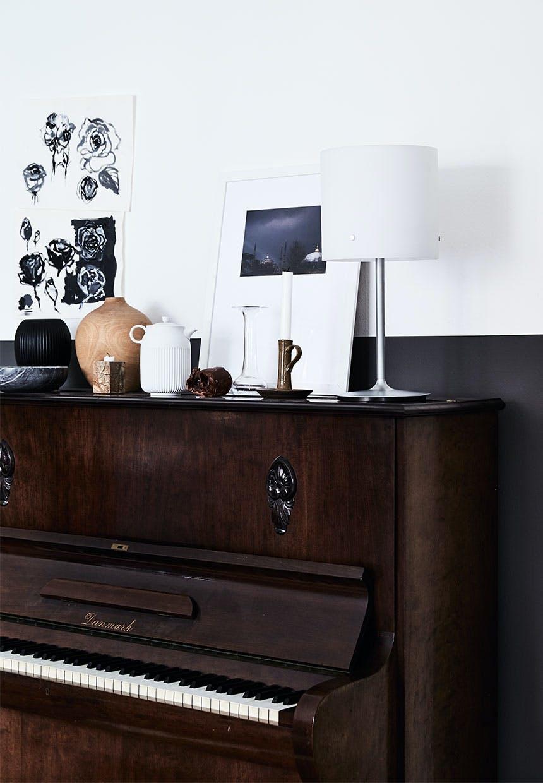 Et smukt gammelt klaver