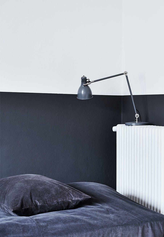 Mørkegrå og hvid = elegant
