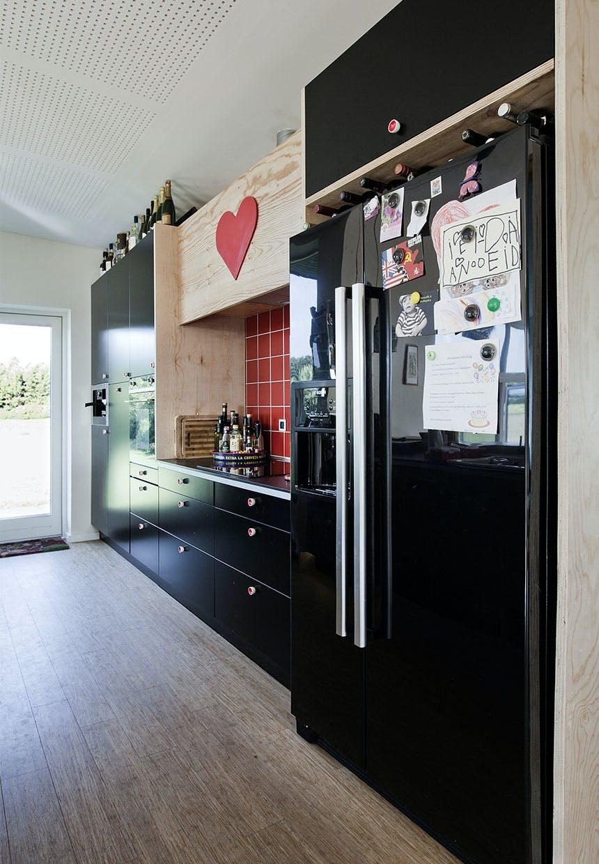 Køkkenet er et hjerte-rum