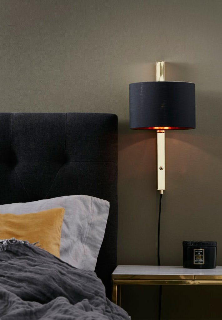Unik væglampe