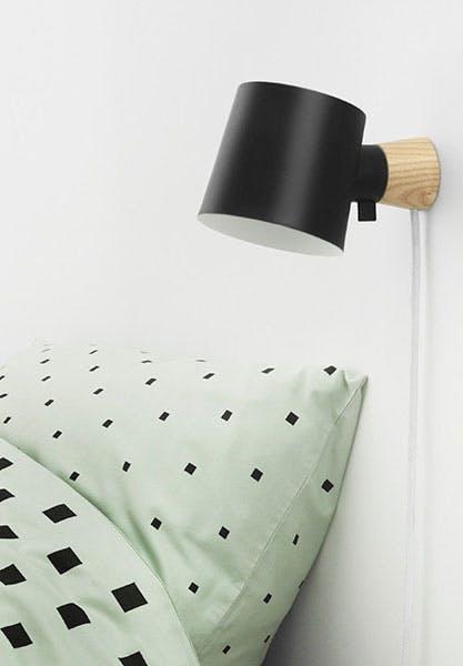 Minimalistisk væglampe