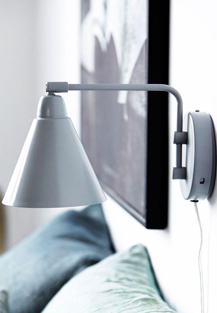 Moderne væglampe