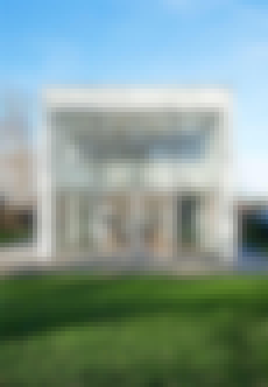 Den hvide firkant - enkel og udsøgt