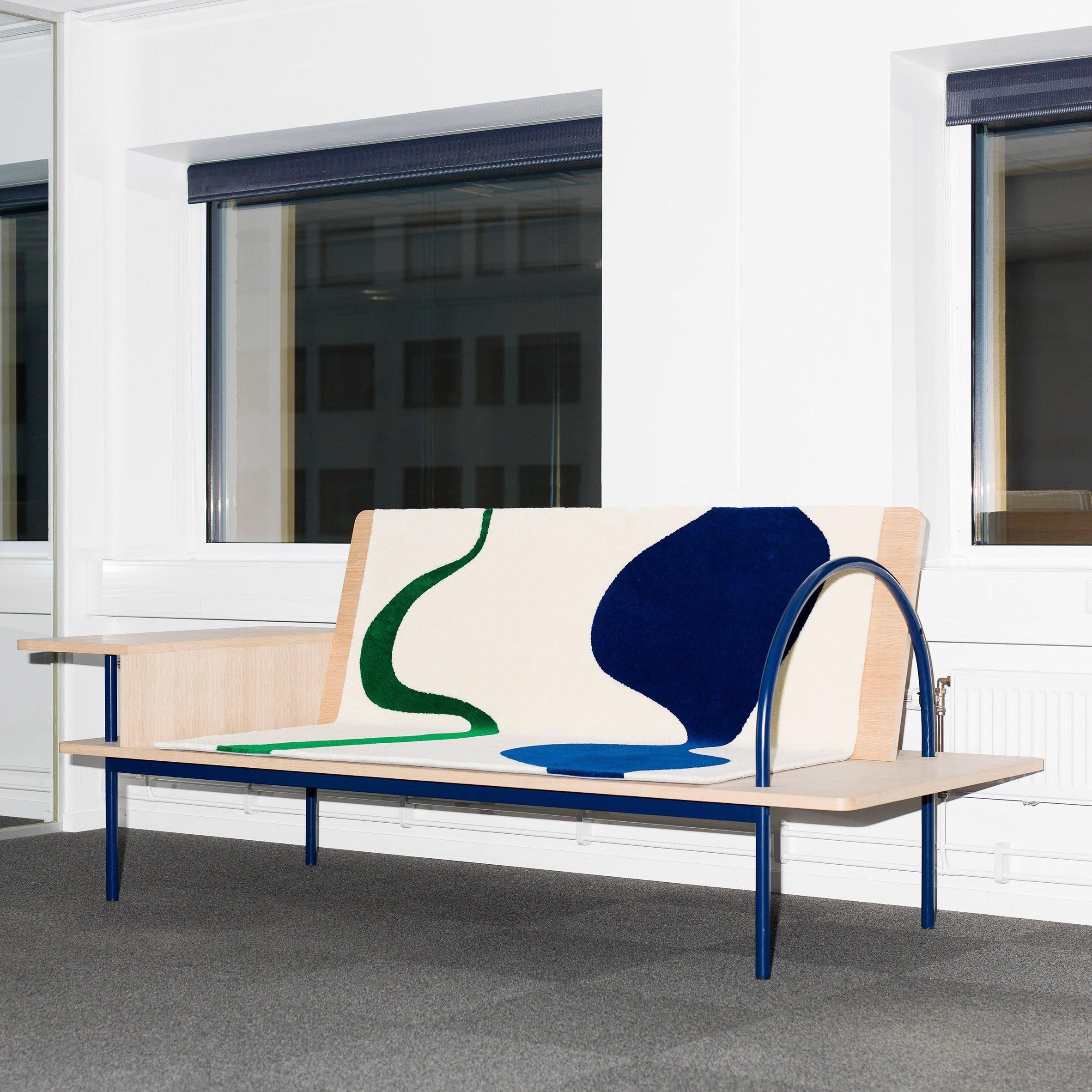 Skulpturel sofa