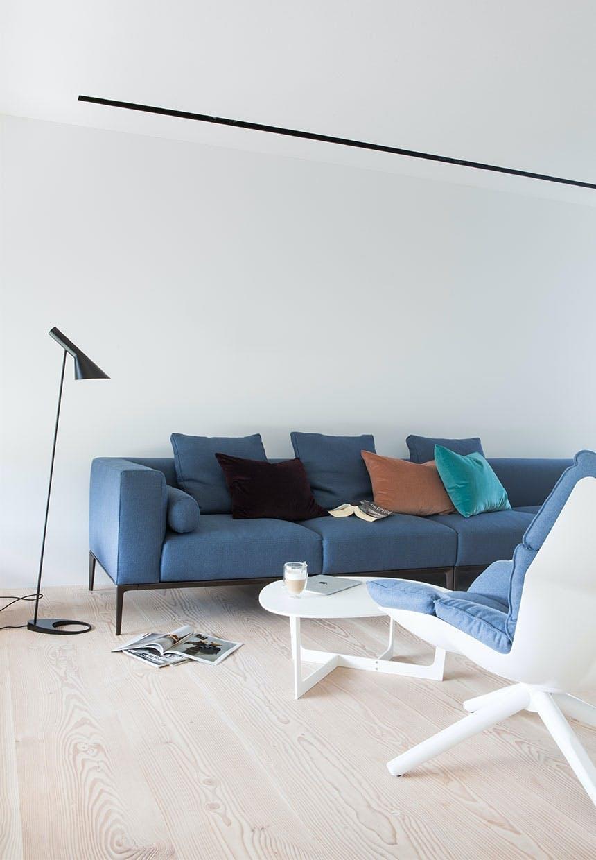 Sofa-arrangement med plads til familien