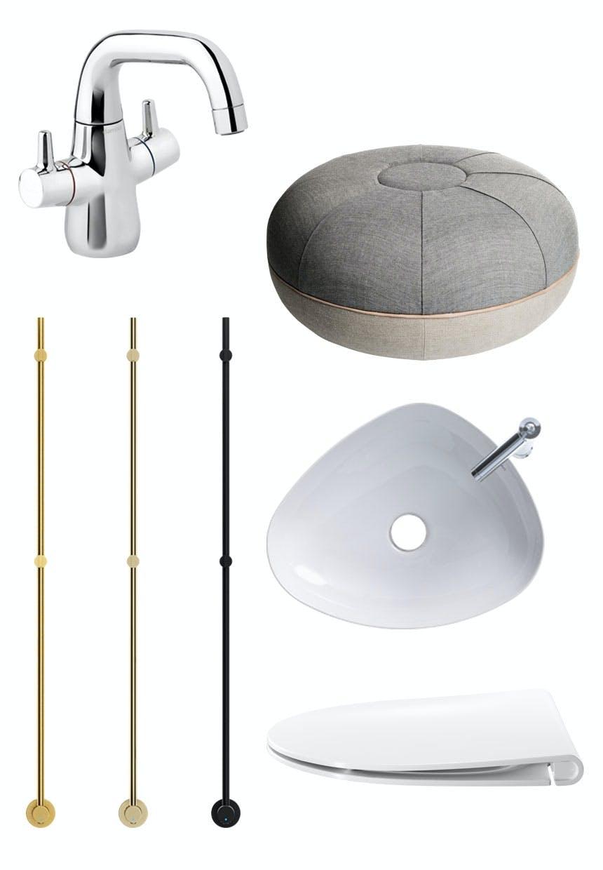 Shopping til det stilfulde badeværelse
