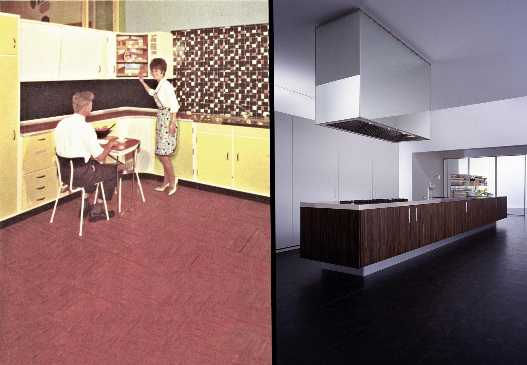 køkken køkkenet historie udvikling