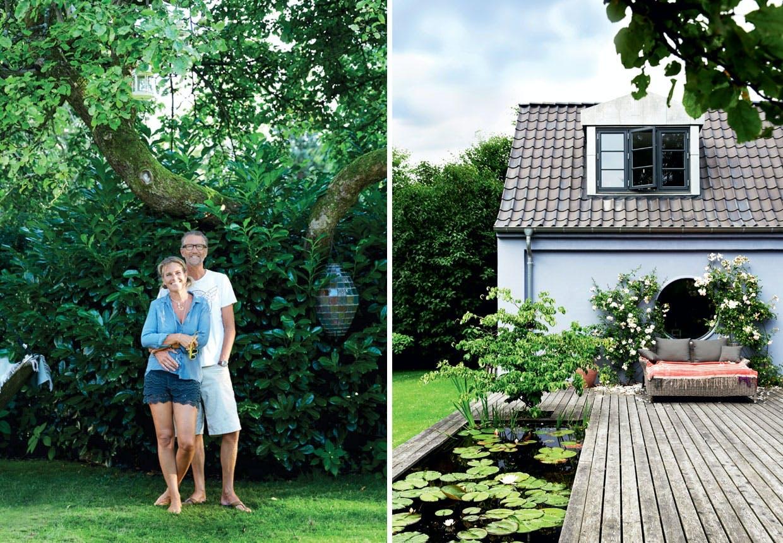 Designparrets æstetiske have og drivhus