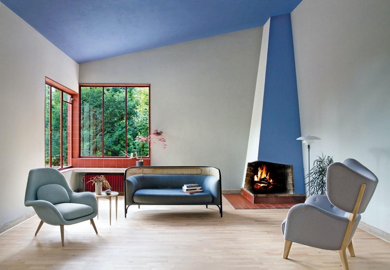 Unik renovering af Poul Henningsens hus