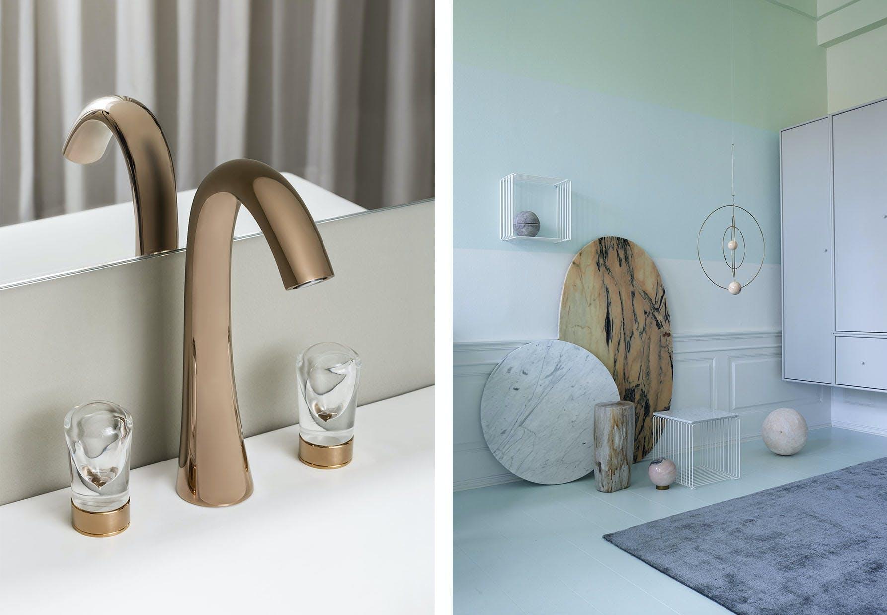 badeværelses armatur Nude af Sybille de Margerie og montana