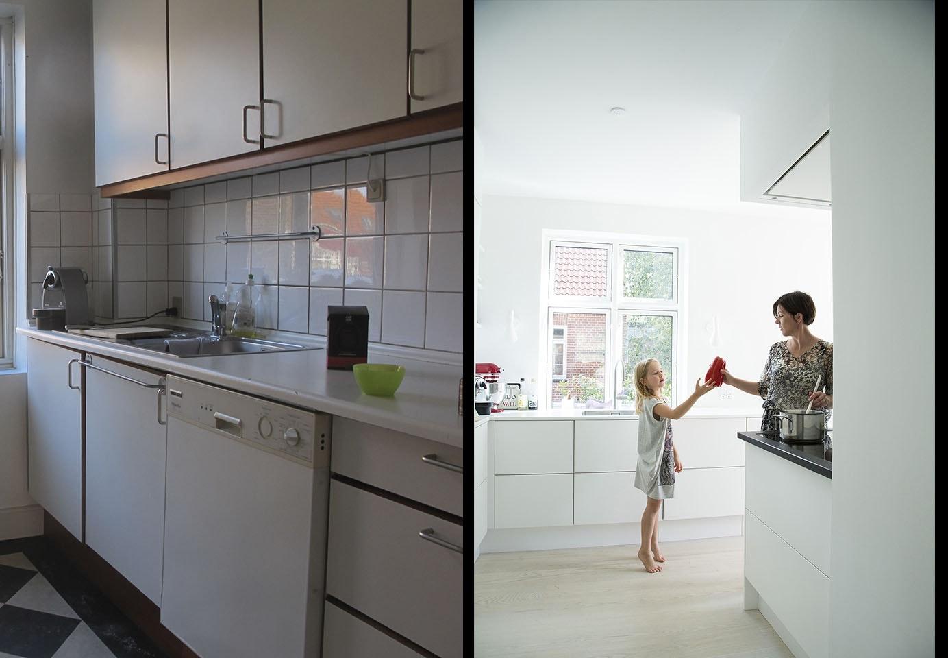 murermestervilla og ombygning af køkken