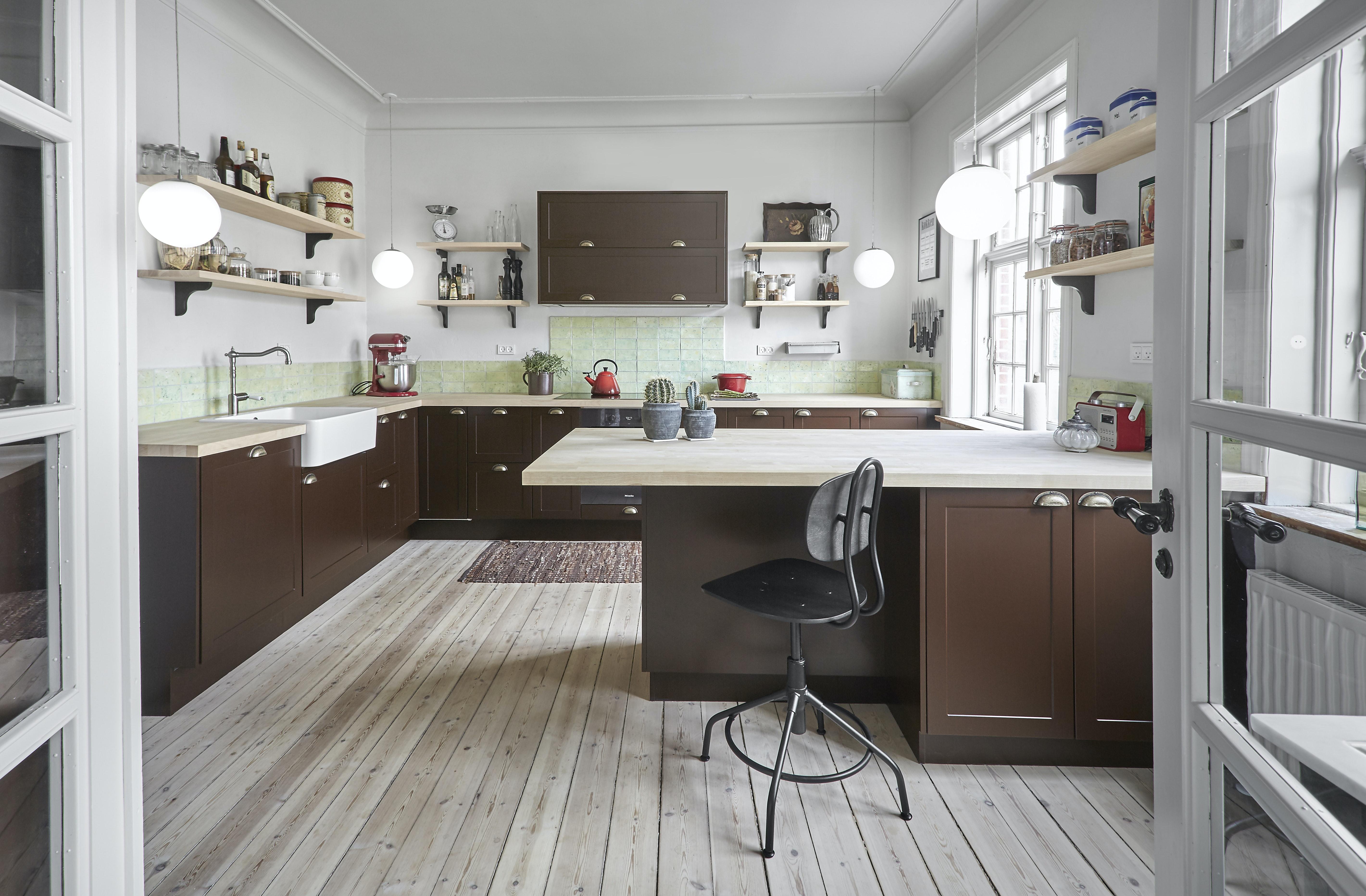 køkken nyt køkken murermestervilla tvis køkkener