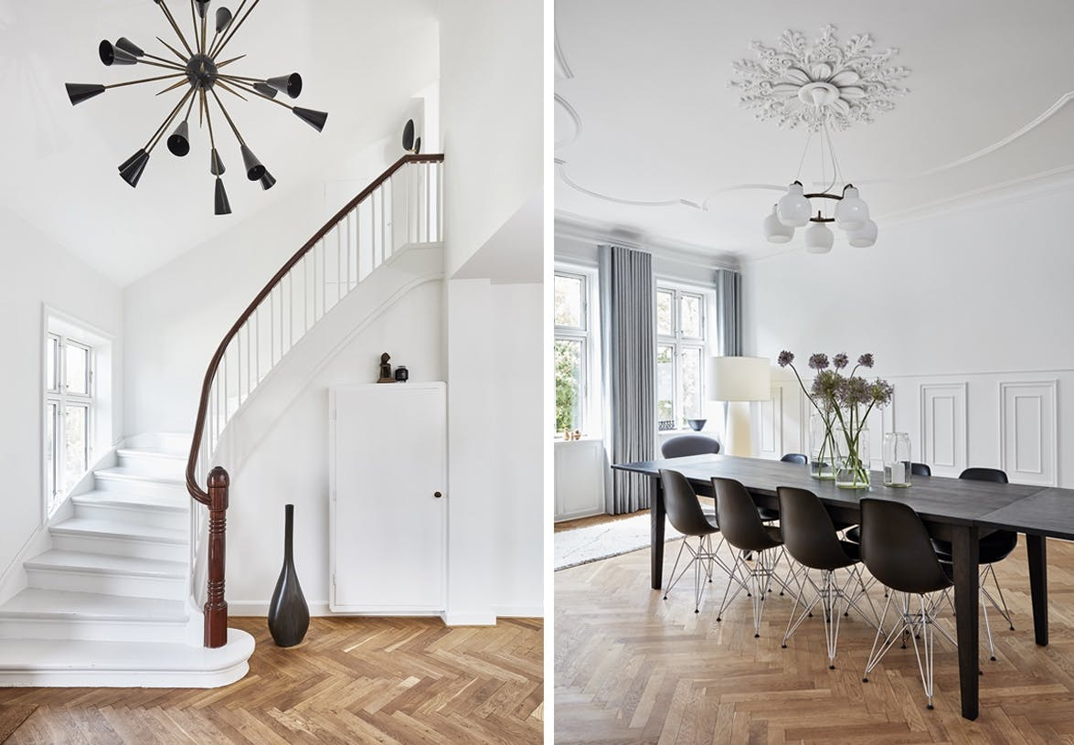 villa herskabsvilla indretning bolig