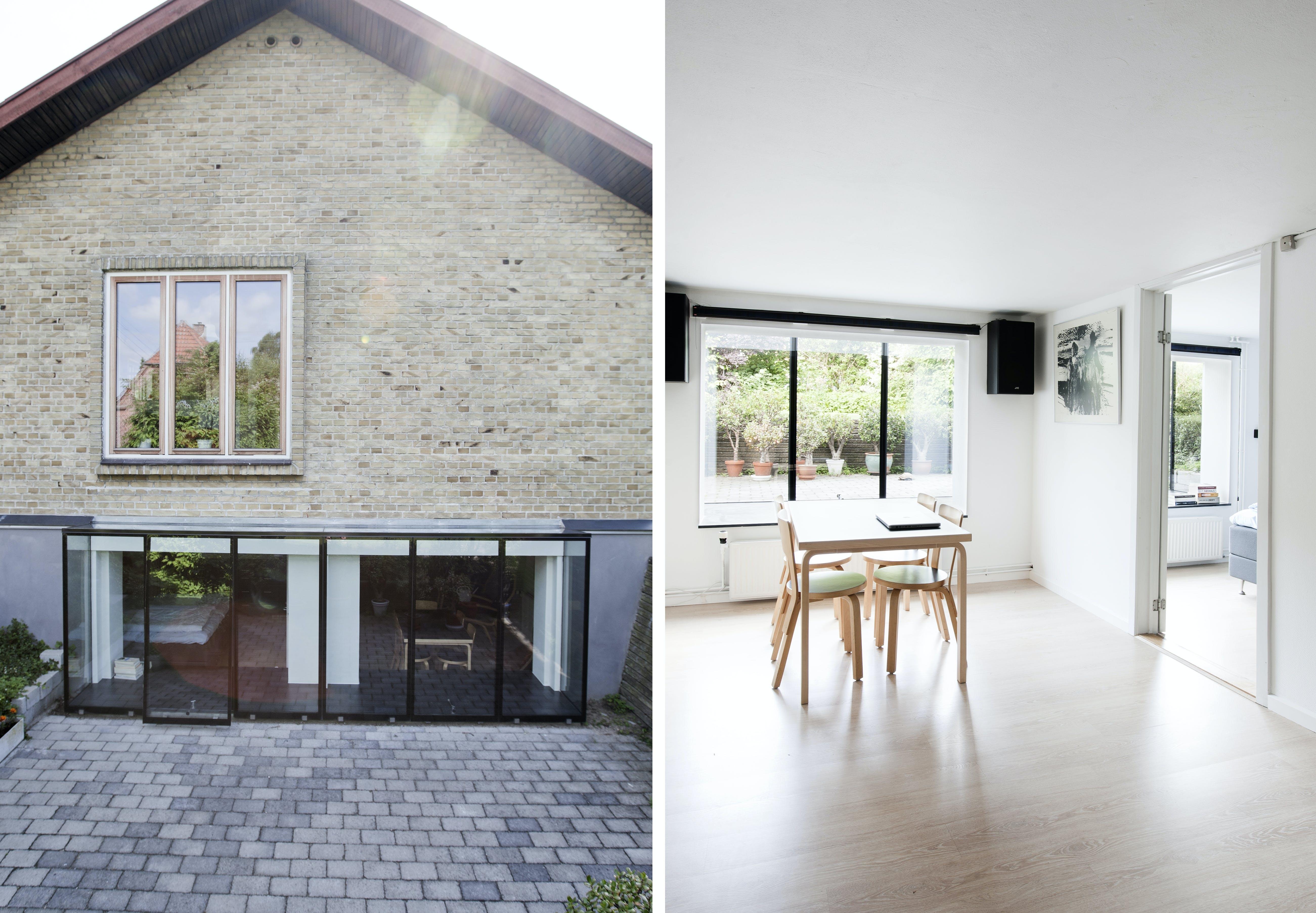 renovering ombygning kælder vinduer