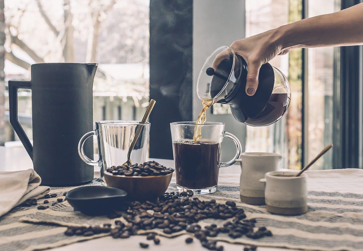 køkken indretning kaffe te