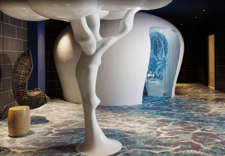 badeværelser bad badekar indretning hotel luksus